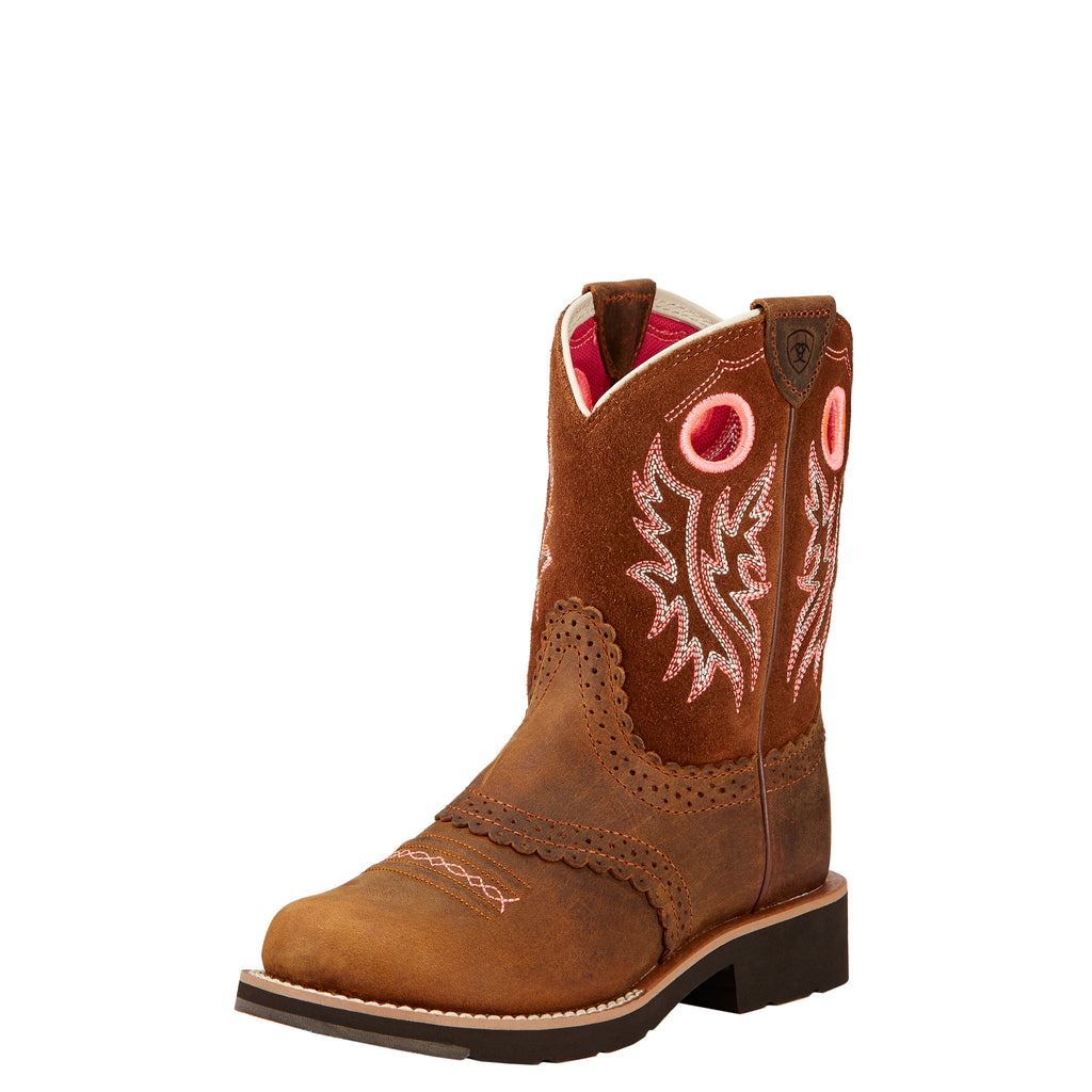 Youth's Ariat Fatbaby Cowgirl Boot #10017309 (3.5Y-6Y)