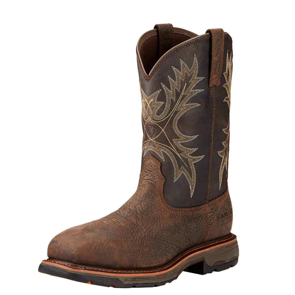Men's Ariat WorkHog Composite Toe Waterproof Work Boot #10017420