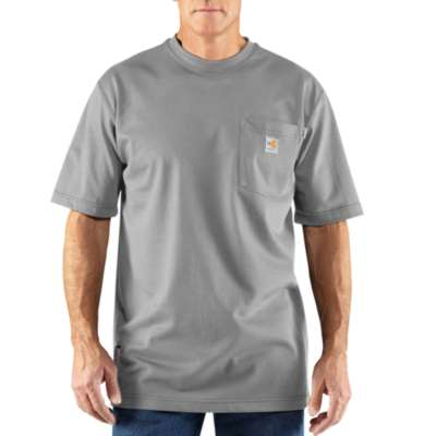 Men's Carhartt Flame Resistant T-Shirt #100234-051X (Big and Tall)