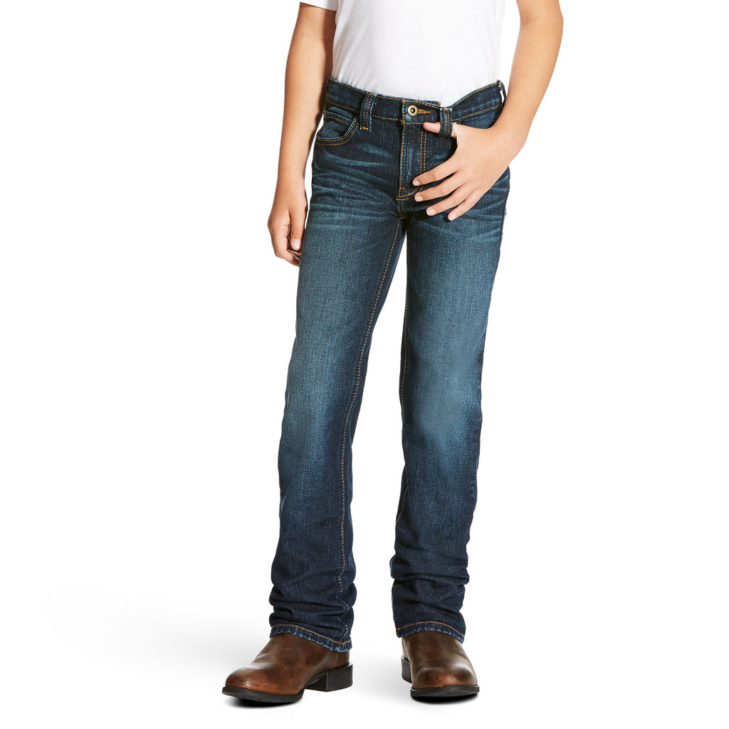 Boy's Ariat B5 Slim Straight Leg Jean #10023450