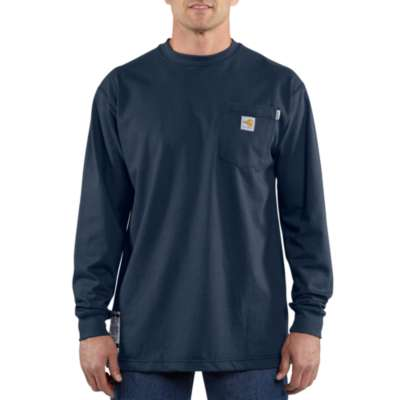 Men's Carhartt Flame Resistant T-Shirt #100235-410X (Big and Tall)