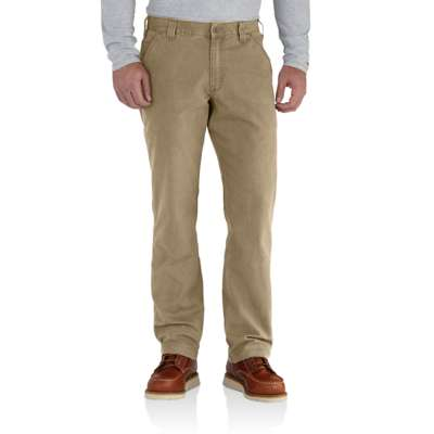 Men's Carhartt Rugged Flex Rigby Dungaree Work Pant #102291-253