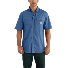 Men's Carhartt Force Ridgefield Button Down Shirt #102417-445