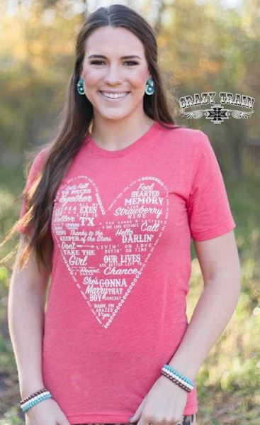Women's Vocal T-Shirt #11-LOVESONG