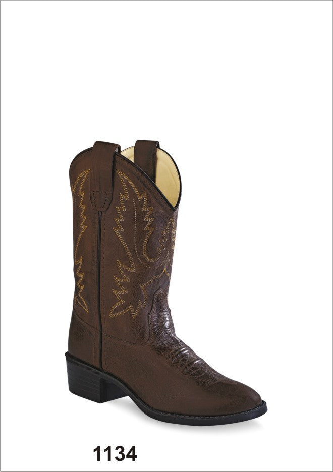 Children's Old West Western Boot #1134 (8.5C-3C)