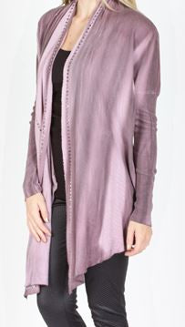 Women's Vocal Cardigan #11417C-BURG