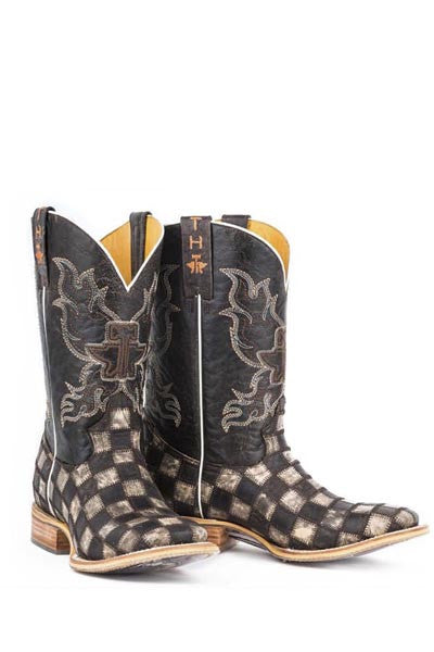 Men's Tin Haul Gunmetal Check Boot #14-020-0007-0206