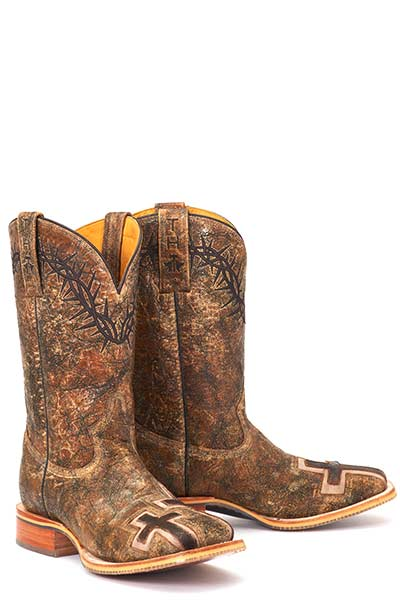Men's Tin Haul John 3:16 Boot #14-020-0007-0301BR