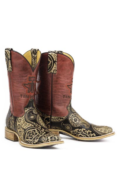 Women's Tin Haul Paisley Rocks Boot #14-021-0007-1205TA