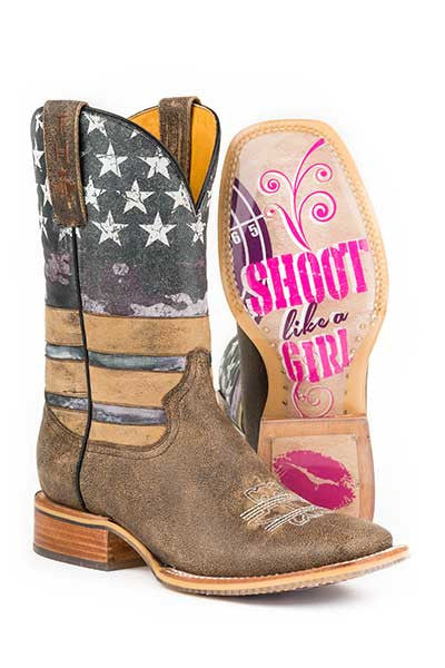 Women's Tin Haul American Woman Boot #14-021-0007-1219