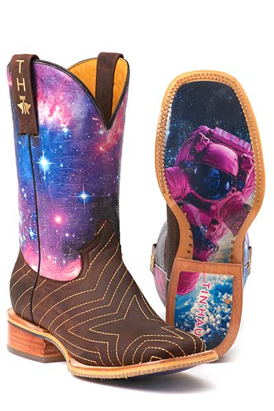 Women's Tin Haul Stardust Western Boot #14-021-0007-1302BR