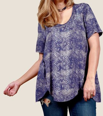 Women's Vocal Blouse #15984SX (Plus Sizes)