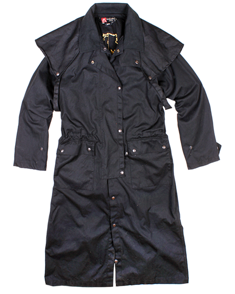 Men's Kakadu Workhorse Drovers Coat #2010BLK