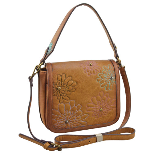 Women's Catchfly Annie Saddle Bag Purse #2010622