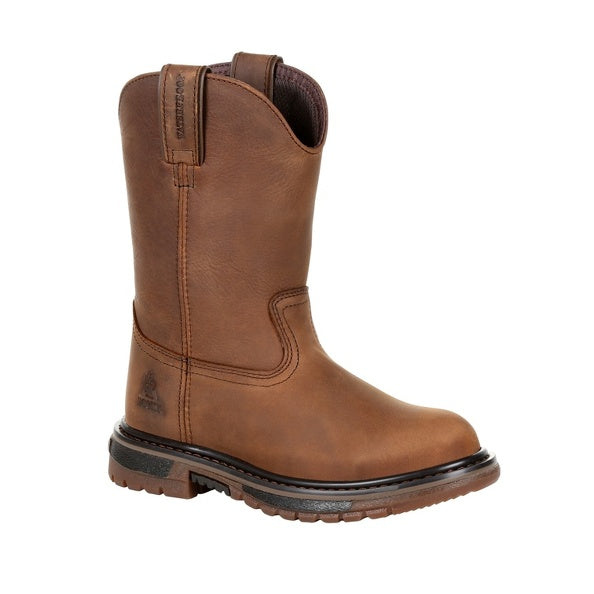 Youth's Rocky Original Ride FLX Waterproof Western Boot #RKW0300Y (3.5Y-7Y)