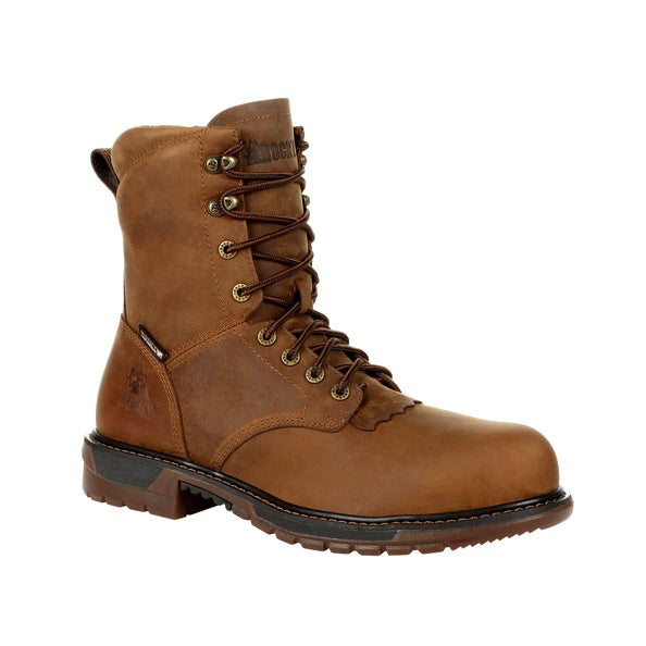 Men's Rocky Original Ride FLX Composite Waterproof Lace Up Boot #RKW0324