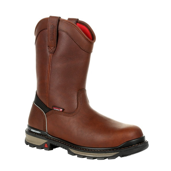 Men's Rocky Rams Horn Insulated Waterproof Composite Toe Boot #RKK0306