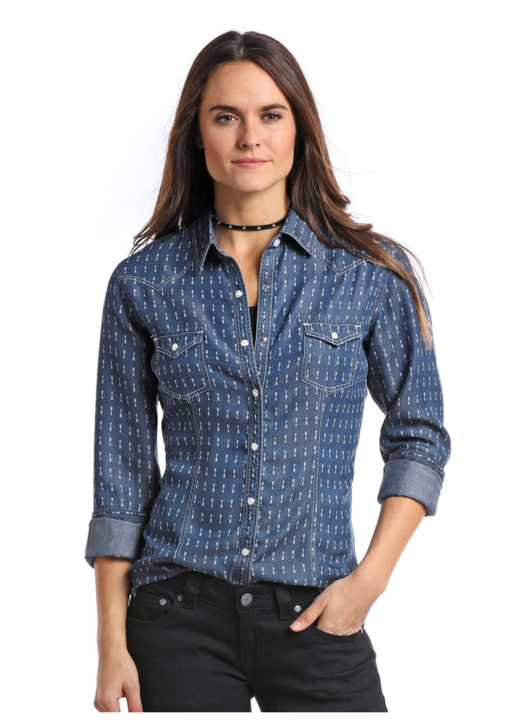 Women's Panhandle Snap Front Shirt #22X7159 (Plus Size)