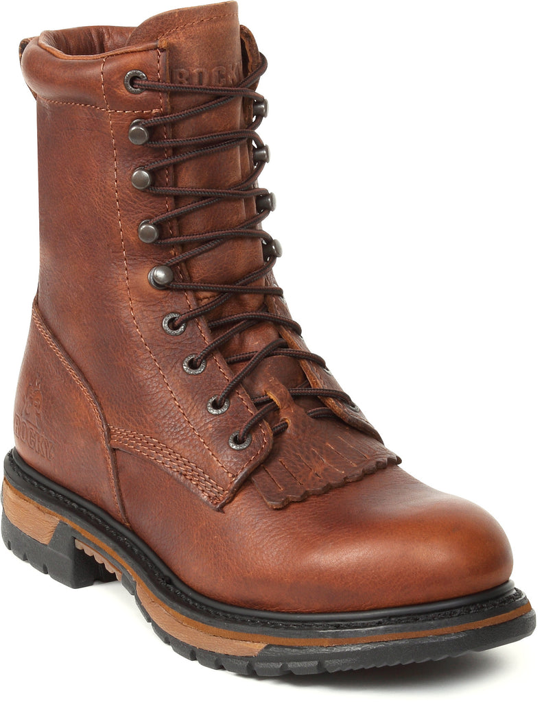 Men's Rocky Original Ride Lacer Waterproof Work Boot #2723