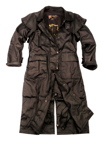 Men's Kakadu Workhorse Drovers Coat #2010BRN