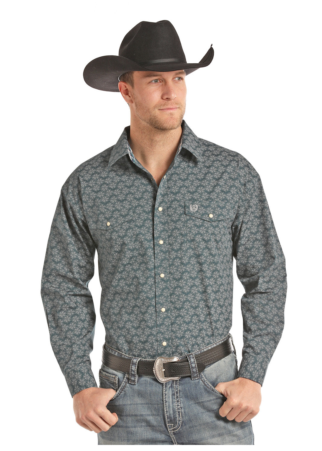 Men's Panhandle Snap Front Shirt #36S7712-C