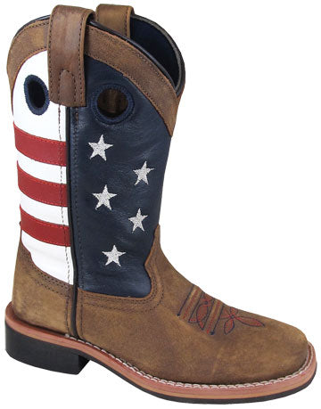 Youth's Smoky Mountain Stars and Stripes Boot #3880Y (3.5Y-7Y)