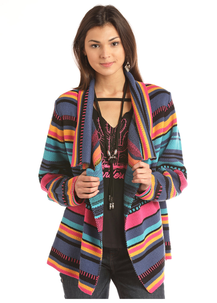 Women's Rock & Roll Cowgirl Cardigan #46-2896