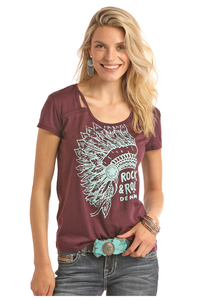 Women's Rock & Roll Cowgirl T-Shirt #49T9358