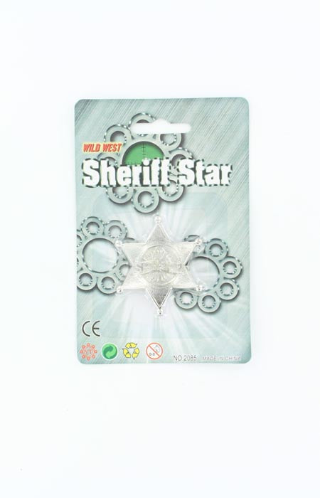 M&F Western Products Sheriff Star #50554