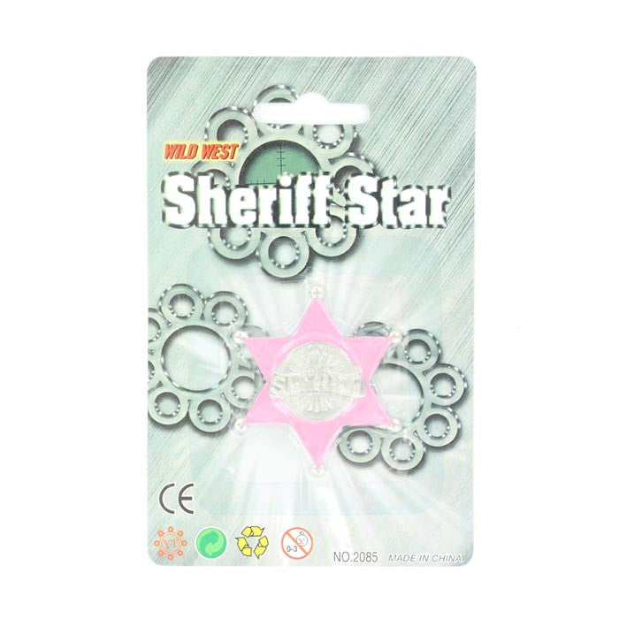 M&F Western Products Sheriff Star #50556