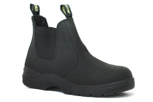 Men's Work Zone Steel Toe Work Boot #S660BLK