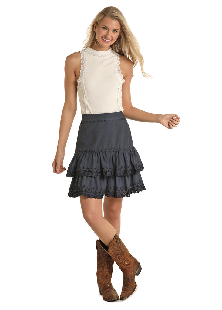 Women's Rock & Roll Cowgirl Skirt #69-5141