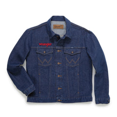 Men's Wrangler Denim Logo Jacket #74145BR
