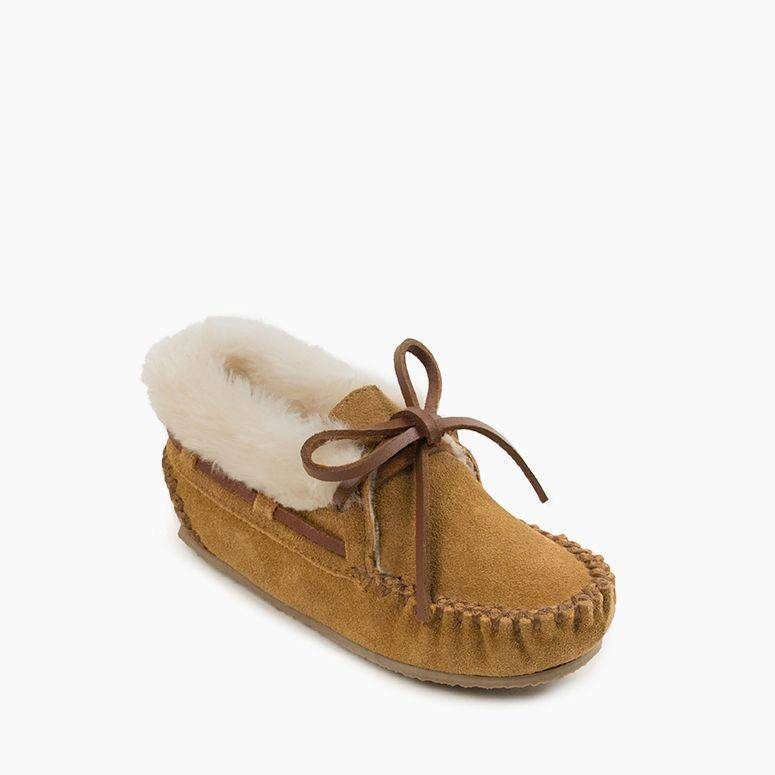 Children's Minnetonka Charley Slipper #48031