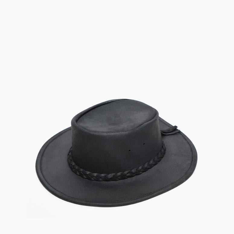 Minnetonka Leather Fold Up Hat #9529