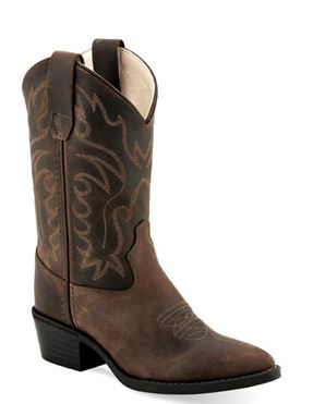 Children's Old West Western Boot #8112 (8.5C-3C)