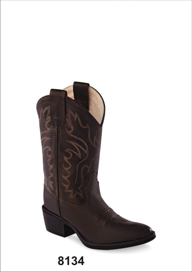 Youth's Old West Western Boot #CCY8134 (3.5Y-7Y)
