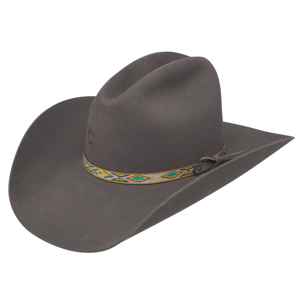 Charlie 1 Hors Run Away Grey 4X Felt Hat #CWRAGY-25409