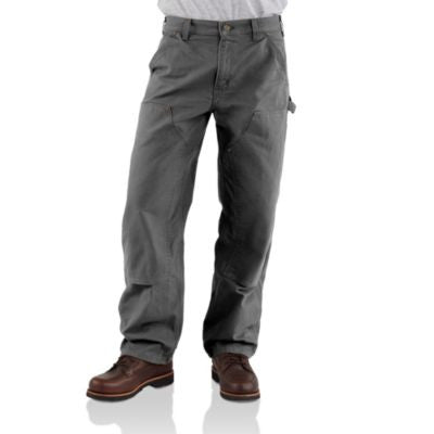 Men's Carhartt Double Front Work Dunagree Pant #B136GVL