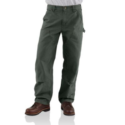 Men's Carhartt Double Front Work Dunagree Pant #B136MOS