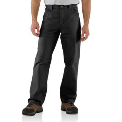 Men's Carhartt Canvas Work Dungaree Pant #B151BLK