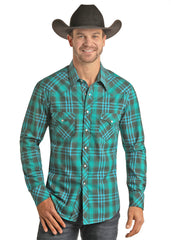Men's Rock & Roll Cowboy Snap Front Shirt #B2S6590