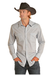 Men's Rock & Roll Cowboy Snap Front Shirt #B2S7055