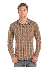 Men's Rock & Roll Cowboy Snap Front Shirt #B2S8009