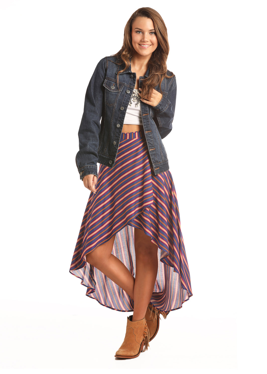 Women's Rock & Roll Cowgirl Skirt #B9-2555