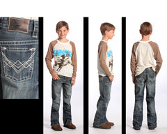 Boy's Rock & Roll Cowboy Jean #BB-5528 (7-16)
