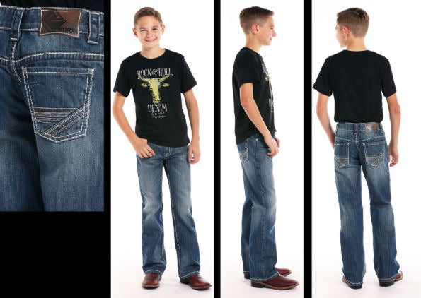 Boy's Rock & Roll Cowboy Jean #BB-7412
