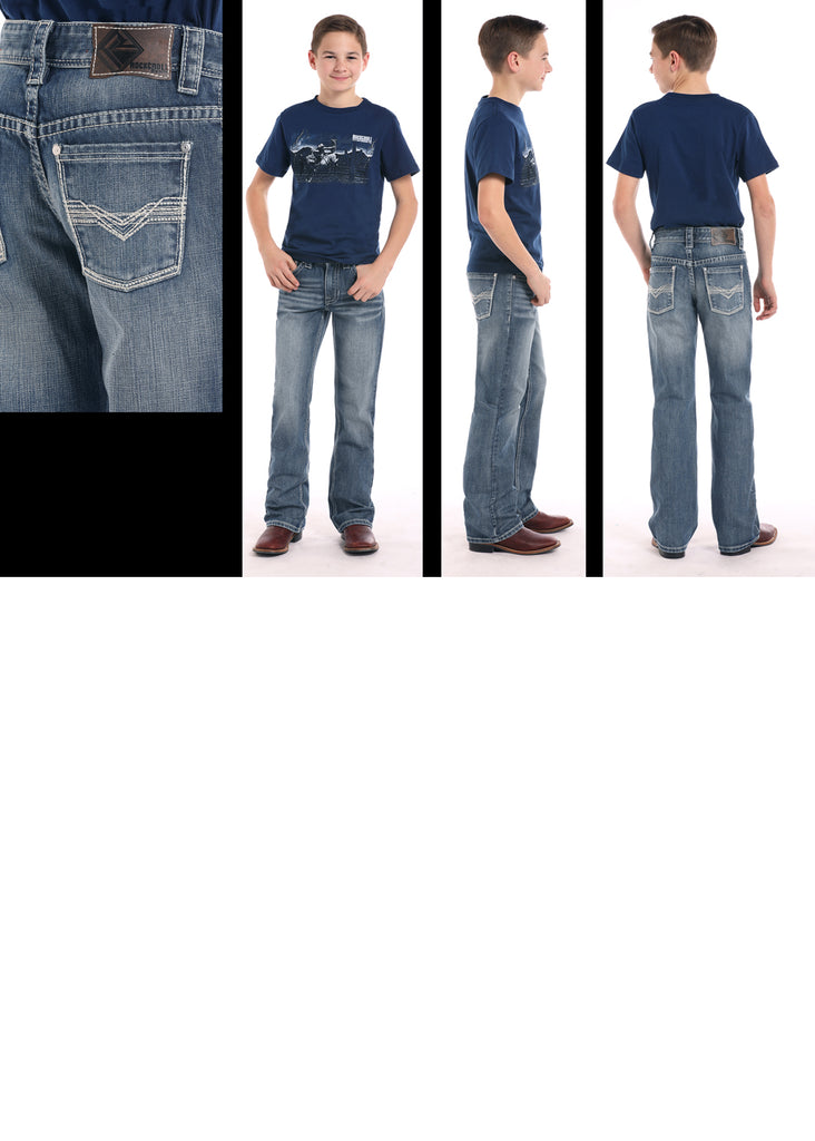 Boy's Rock & Roll Cowboy BB Gun Regular Fit Jean #BB-8681