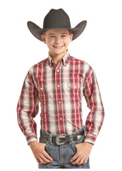 Boy's  Panhandle Button Down Shirt #C0D7705