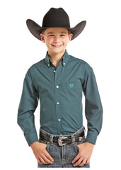 Boy's Panhandle Button Down Shirt #C0D7713-C